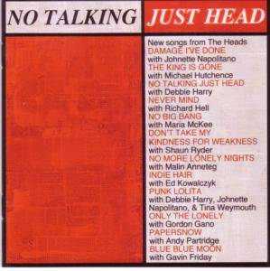 Cover - Heads, The: No Talking Just Head