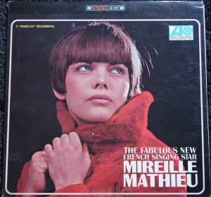 Mireille Mathieu: Fabulous New French Singing Star, The - Cover