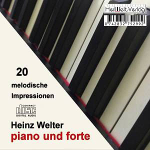 Heinz Welter: Piano Und Forte I - Cover