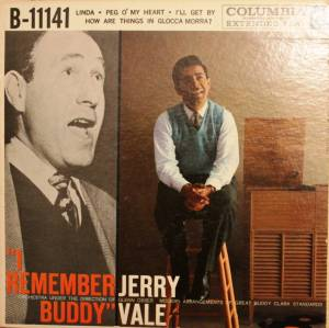 Cover - Jerry Vale: I Remember Buddy (EP)