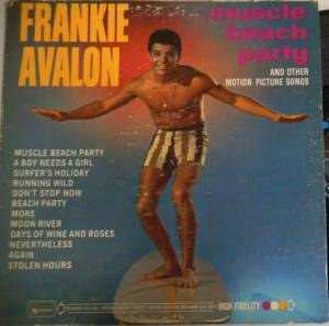 Cover - Frankie Avalon: Muscle Beach Party And Other Motion Picture Songs