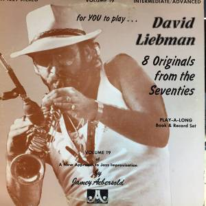 Cover - David Liebman: 8 Originals From The Seventies - Volume 19