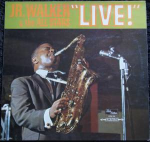 "Cover - Jr. Walker & The All Stars: ""Live"""
