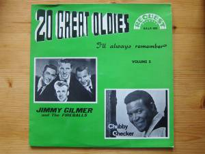 Cover - Jimmy Gilmer & The Fireballs: 20 Great Oldies I'll Always Remember Volume 5