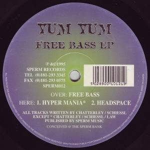 Cover - Yum Yum: Free Bass EP