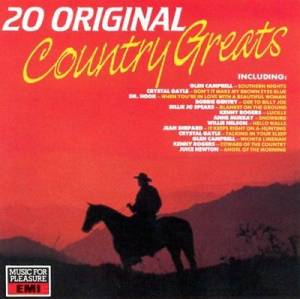 Cover - Jean Shepard: 20 Original Country Greats