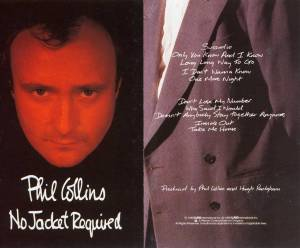 Phil Collins: No Jacket Required (Tape) - Bild 2