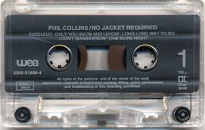 Phil Collins: No Jacket Required (Tape) - Bild 5