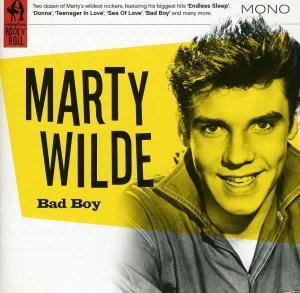 Marty Wilde: Bad Boy - Cover