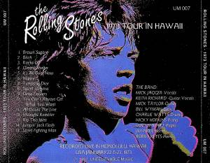 The Rolling Stones: 1973 Tour In Hawaii (CD) - Bild 3