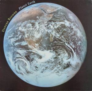 Cover - Duncan Browne: Planet Earth