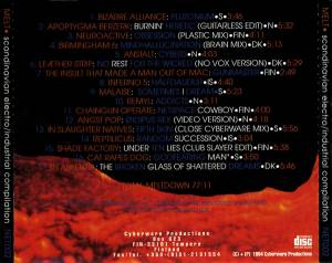 Melt - Scandinavian Electro/Industrial Compilation (CD) - Bild 2