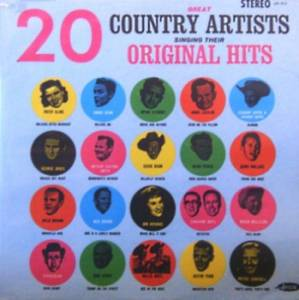 Cover - Wynn Stewart: 20 Great Country Artists Singing Their Original Hits