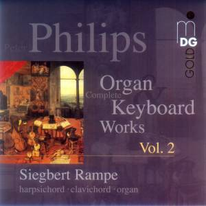Cover - Peter Philips: Complete Keyboard Works Vol. 2