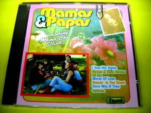 Cover - Mamas & The Papas, The: Featuring Mama Cass Elliott