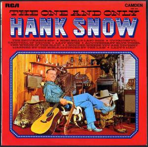 Cover - Hank Snow: One And Only, The