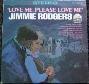 Cover - Jimmie Rodgers: Love Me, Please Love Me