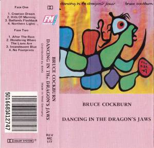 Cover - Bruce Cockburn: Dancing In The Dragon's Jaw