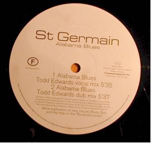 "St Germain: Alabama Blues (Promo-12"") - Bild 1"