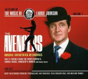 Cover - Laurie Johnson: Music Of Laurie Johnson Volume 1: The Avengers, The