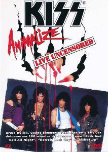 KISS: Animalize Live Uncensored - Cover