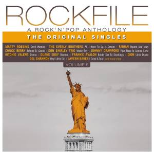 Cover - Don Shirley Trio: Rockfile - A Rock 'n' Pop Anthology - The Original Singles - Volume 5