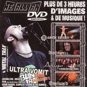 Metallian DVD Sampler No. 4 - Cover