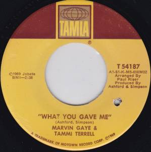 Cover - Marvin Gaye & Tammi Terrell: What You Gave Me
