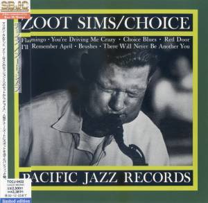 Cover - Zoot Sims: Choice
