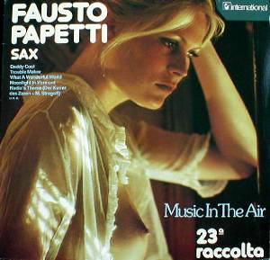Cover - Fausto Papetti: Music In The Air