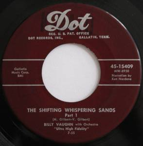Billy Vaughn & His Orchestra: Shifting Whispering Sands, The - Cover