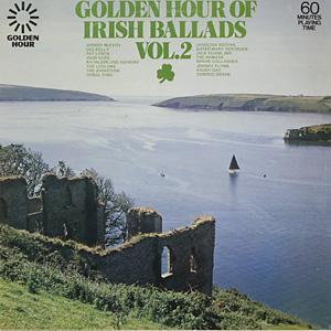 Golden Hour Of Irish Ballads Vol. 2 - Cover
