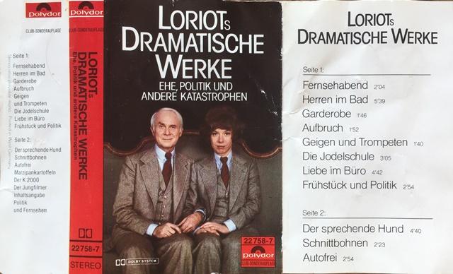 Büro liebe text im loriot Loriot (Fernsehserie)