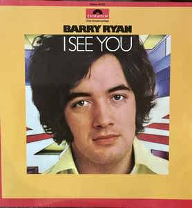 Cover - Barry Ryan: I See You
