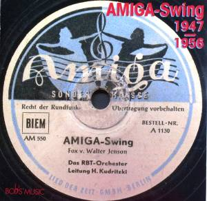 Amiga-Swing 1947 - 1956 - Cover