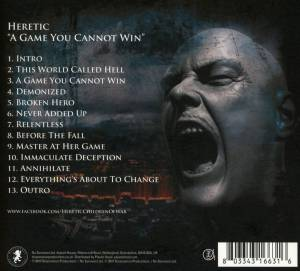 Heretic: A Game You Cannot Win (CD) - Bild 2