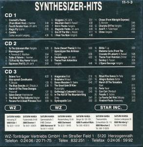 Synthesizer-Hits (The Complete Synthesizer Collection - Ravel's Bolero And 21 More Spectacular Classics) (3-CD) - Bild 2