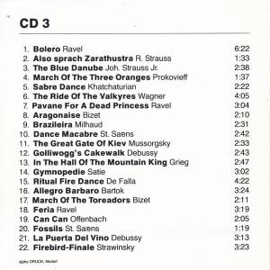 Synthesizer-Hits (The Complete Synthesizer Collection - Ravel's Bolero And 21 More Spectacular Classics) (3-CD) - Bild 6