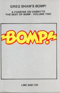 Cover - Barbarians, The: Bomp! Greg Shaw's Bomp! Volume Two