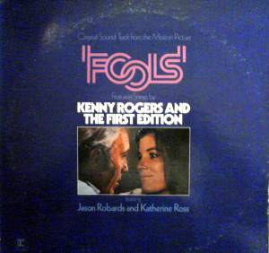 Original Soundtrack From The Motion Picture Fools - Cover