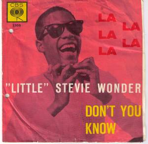 Cover - Little Stevie Wonder: La La La La, La
