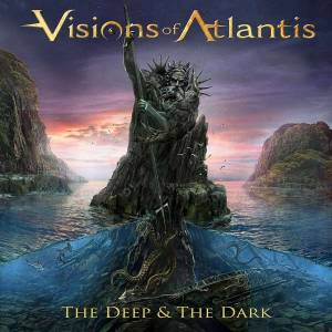 Visions Of Atlantis: Deep & The Dark, The - Cover