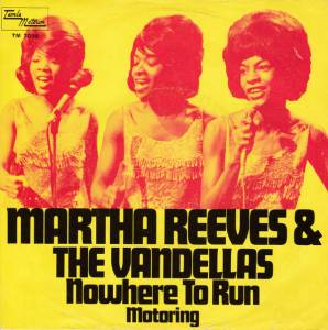 Cover - Martha Reeves & The Vandellas: Nowhere To Run