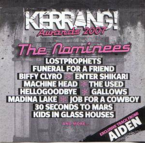 Kerrang! Awards 2007: The Nominees - Cover