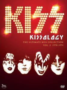 KISS: Kissology - The Ultimate Kiss Collection Vol. 2 1978-1991 - Cover