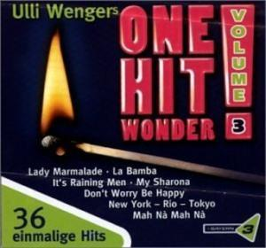 Ulli Wengers One Hit Wonder Vol. 03 - Cover