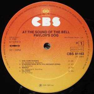 Pavlov's Dog: At The Sound Of The Bell (LP) - Bild 3