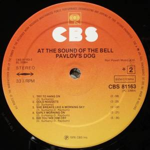 Pavlov's Dog: At The Sound Of The Bell (LP) - Bild 4