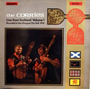 Cover - Corries, The: Live From Scotland Volume 1