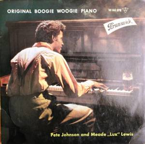 Cover - Pete Johnson: Original Boogie Woogie Piano (EP)